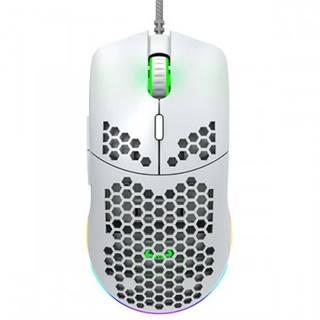 Herná myš Canyon Puncher GM-11, káblová, biela