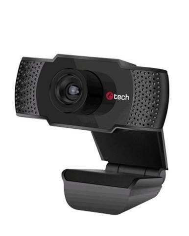 Webkamera C-TECH CAM-07HD, 720P, mikrofón, čierna