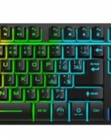 Klávesnica Connect IT NEO, herná, CZ, podsvietená, čierna