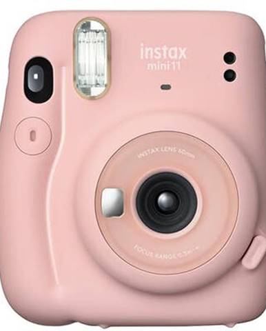 Fotoaparát Fujifilm Instax Mini 11, ružová + fotopapier 10ks