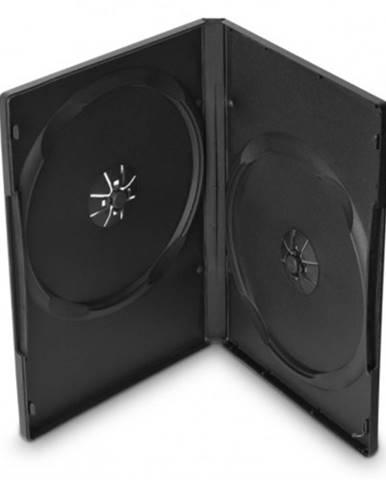 Box na 2 DVD COVER IT, 10 ks/bal, čierny