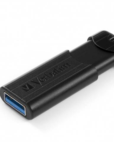 VERBATIM Store 'n' Go PinStripe 256 GB USB 3.0 čierny