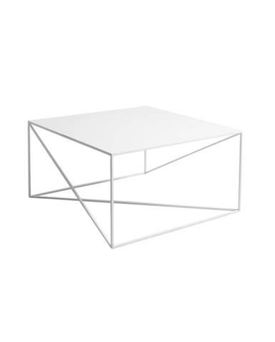 Biely konferenčný stolík Custom Form Memo, 80 x 80cm
