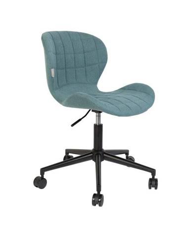 Modrá kancelárska stolička Zuiver OMG