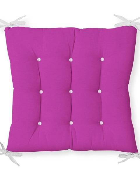 Minimalist Cushion Covers Sedák s prímesou bavlny Minimalist Cushion Covers Lila, 40 x 40 cm
