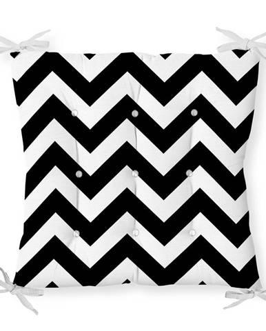 Sedák na stoličku Minimalist Cushion Covers Zigzag, 40 x 40 cm