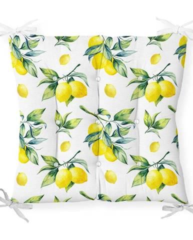 Sedák s prímesou bavlny Minimalist Cushion Covers Lemons, 40 x 40 cm