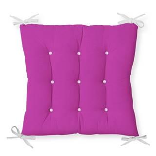 Sedák s prímesou bavlny Minimalist Cushion Covers Lila, 40 x 40 cm