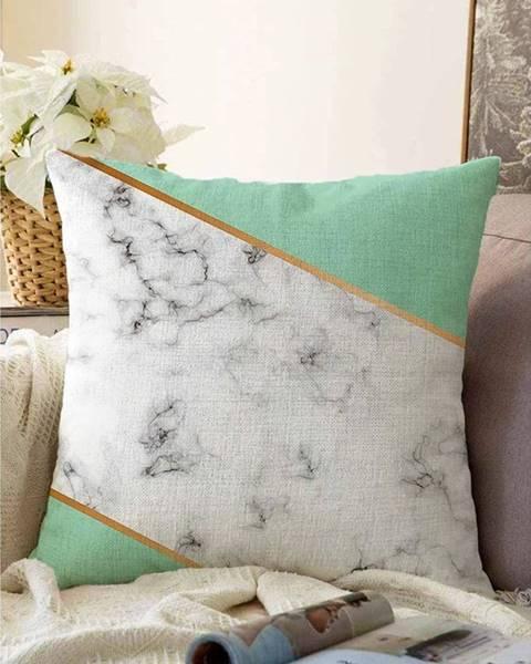 Minimalist Cushion Covers Obliečka na vankúš s prímesou bavlny Minimalist Cushion Covers Light Marble, 55 x 55 cm