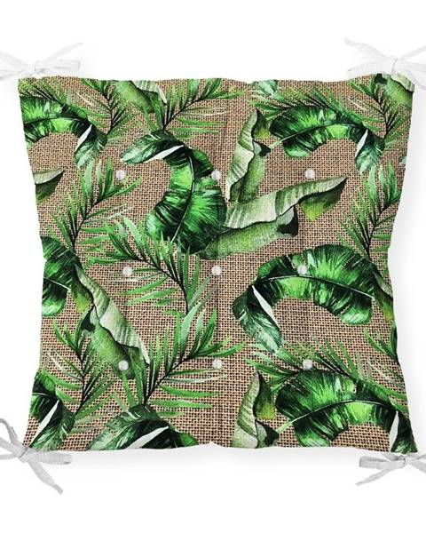 Minimalist Cushion Covers Sedák s prímesou bavlny Minimalist Cushion Covers Forest, 40 x 40 cm