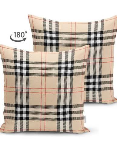 Obliečka na vankúš Minimalist Cushion Covers Flannel, 45 x 45 cm