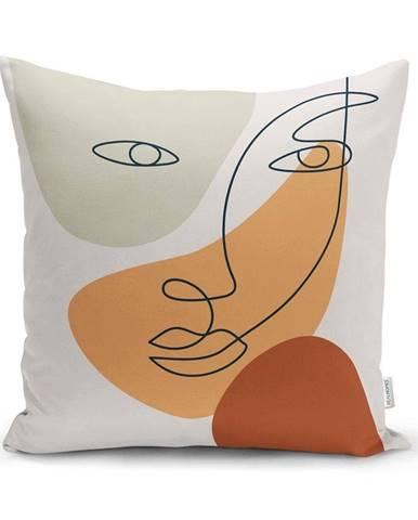 Obliečka na vankúš Minimalist Cushion Covers Post Modern, 45 x 45 cm