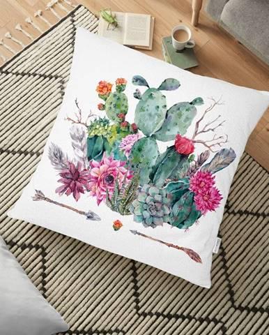 Obliečka na vankúš s prímesou bavlny Minimalist Cushion Covers Desert Flowers, 70 x 70 cm