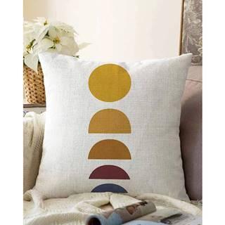 Obliečka na vankúš s prímesou bavlny Minimalist Cushion Covers Sunset, 55 x 55 cm