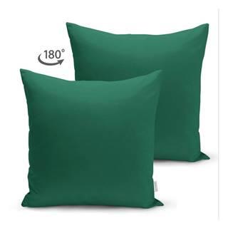 Zelená obliečka na vankúš Minimalist Cushion Covers, 45 x 45 cm