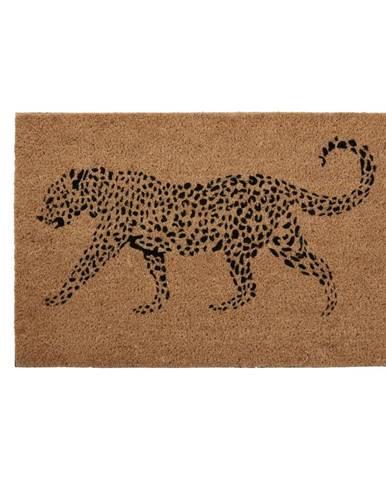 Rohožka z prírodného kokosového vlákna Premier Housewares Leopard, 40 x 60 cm