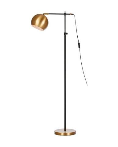 Čierno-bronzová voľne stojacia lampa Markslöjd Chester