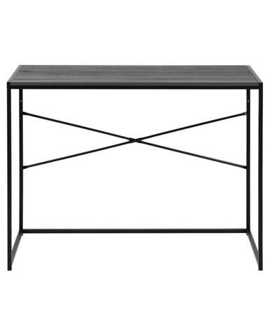 Čierny konzolový stôl Actona Seaford