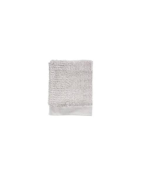 Zone Svetlosivý uterák zo 100% bavlny Zone Classic, 50×70 cm