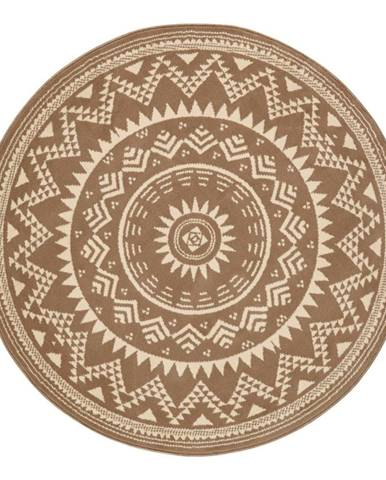 Hnedý koberec Hanse Home Celebration, ⌀ 140 cm