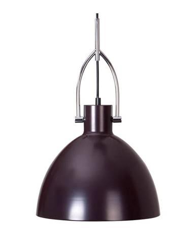 Tmavohnedé stropné svietidlo z kovu sømcasa CanetSimat, ø28cm