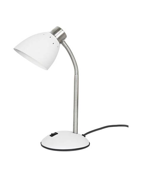 Leitmotiv Biela stolová lampa Leitmotiv Dorm
