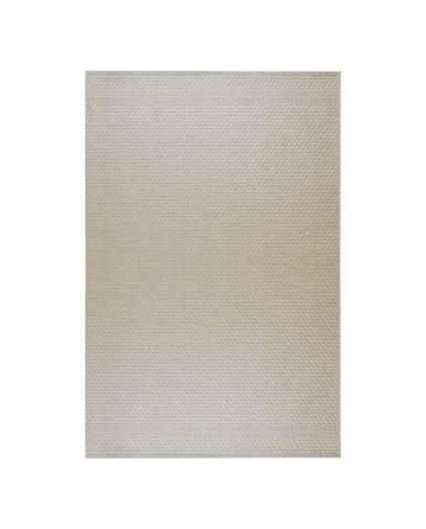 Béžový vonkajší koberec Floorita Pallino Ecru, 130 × 190 cm