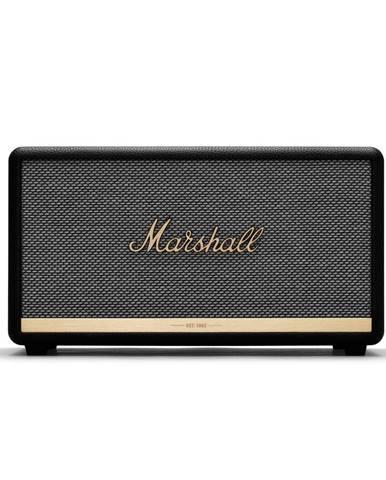 Čierny reproduktor s Bluetooth pripojením Marshall Stanmore II