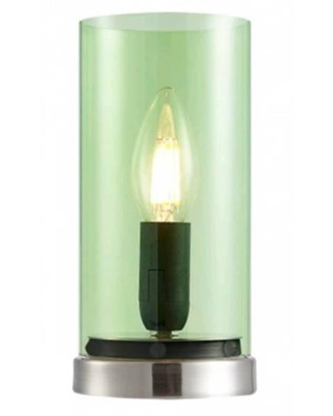 ASKO - NÁBYTOK Stolná lampa Laik, zelené sklo%