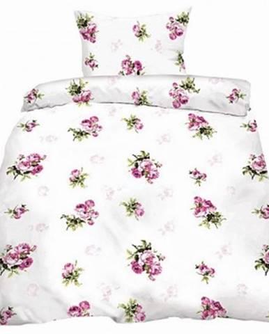 Obliečky Rosemarie, bavlna renforcé, motív ruží%