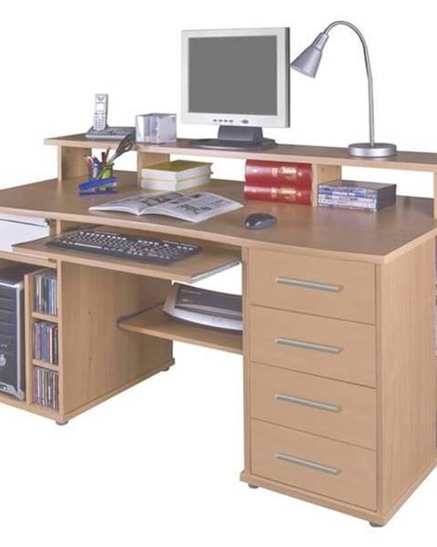 Sconto PC stôl FRANZ buk