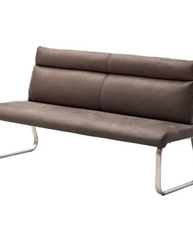 Jedálenská lavica RILEY 2 hnedá