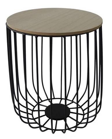 Odkladací stolík FU14 paulovnia, Ø 30 cm