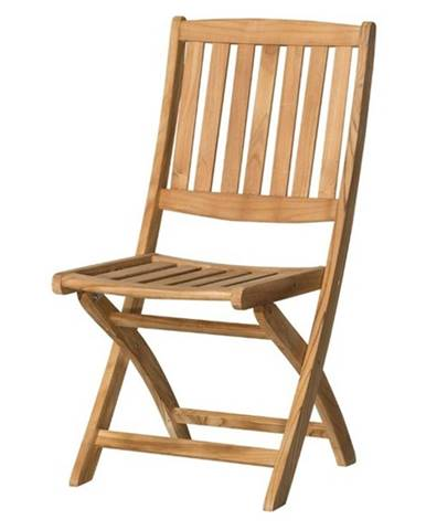 Skladacia stolička CAMBRIDGE 1 teakové drevo