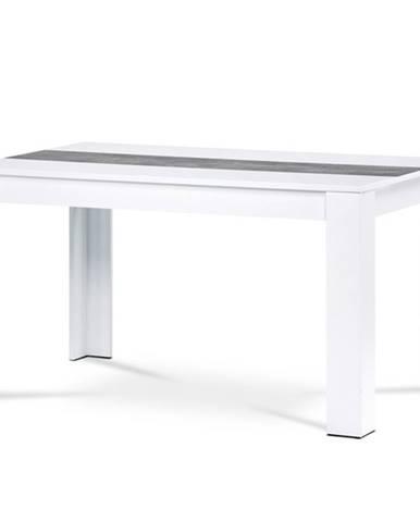 Jedálenský stôl IGOR biela/betón