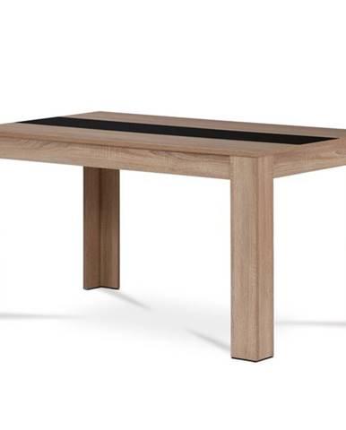 Jedálenský stôl IGOR dub sonoma/biely alebo čierny stred