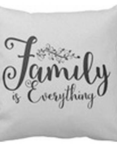 Dekoračný Vankúš Family Is Everything, 45/45cm