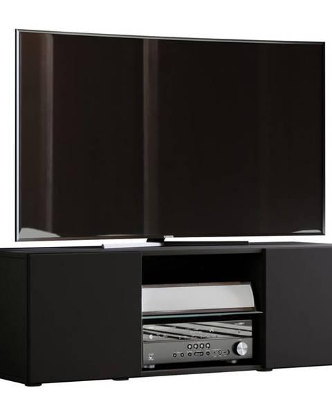 Möbelix Tv - Skrinka Lowina Š: 115 Cm Čierna