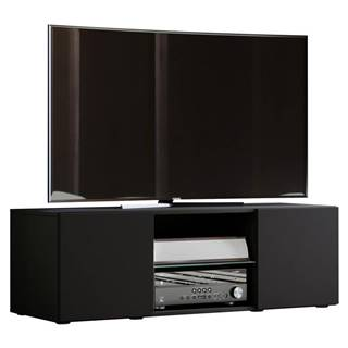 Tv - Skrinka Lowina Š: 115 Cm Čierna