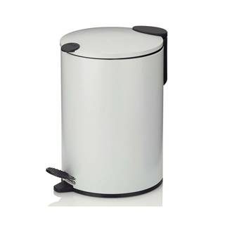 Kela Kozmetický odpadkový kôš MATS 3 l, biela