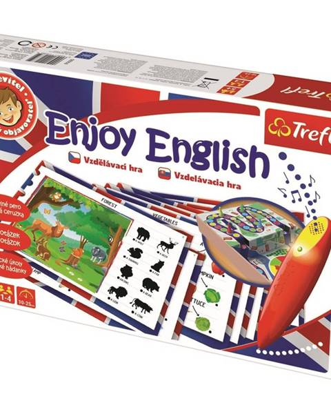 Trefl TREFL Malý objevitel Enjoy English magické pero
