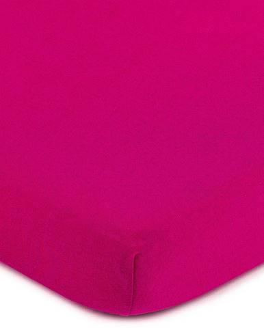 4Home jersey prestieradlo ružová, 180 x 200 cm