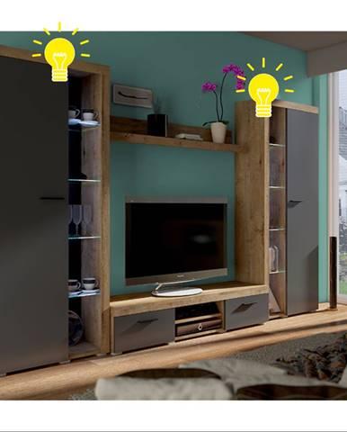 4-bodové LED osvetlenie biele podfarbenie NESEBAR XL