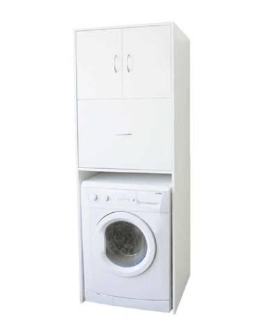 Hlboká skrinka nad práčku biela NATALI TYP 9