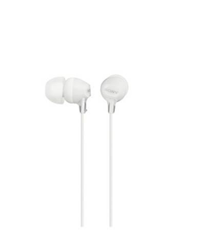 Sony Slúchadlá MDR-EX15AP biela