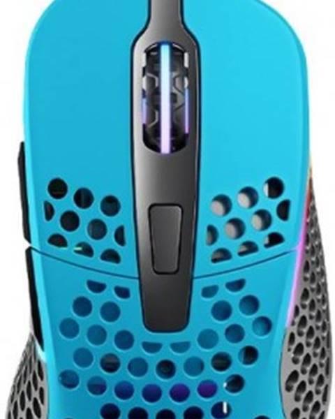 XTRFY Herná myš Xtrfy M4 RGB, 16 000 dpi, modrá