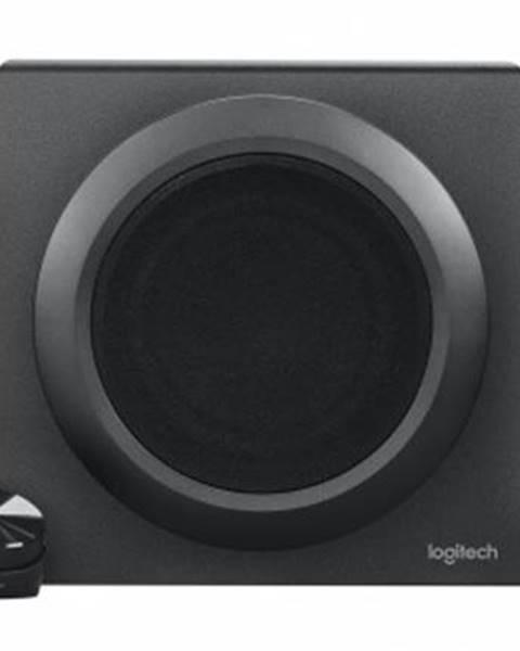 Logitech Reproduktory Logitech Z333, 80W, 2.1, čierna
