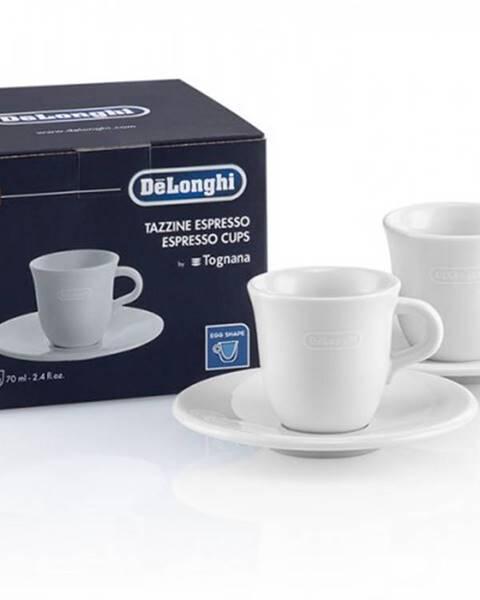 DéLonghi Keramický hrnček na espresso DeLonghi DLSC308, 2ks