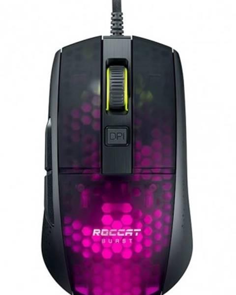 Roccat Herná myš Roccat Burst Pro, 68 g, 16000 dpi, čierna