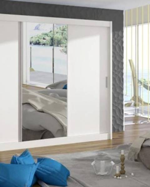 OKAY nábytok Šatníková skriňa Mosela - 250x215x61 cm